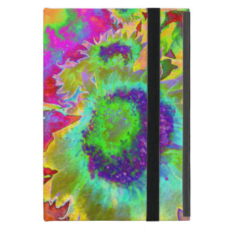 Sunflower Fields forever- green Covers For iPad Mini