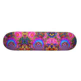 Sunflower Fields forever - pink 18.1 Cm Old School Skateboard Deck