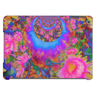 Sunflower fields forever - pink iPad air covers