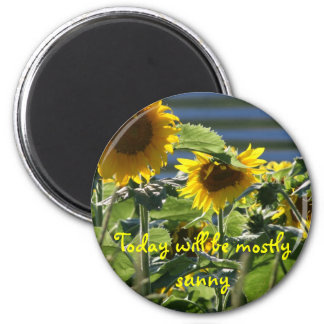 Sunflower Flair Magnet