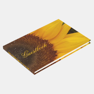 Sunflower Flower Floral Photography Guestbook
