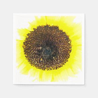 Sunflower Fun Disposable Napkin