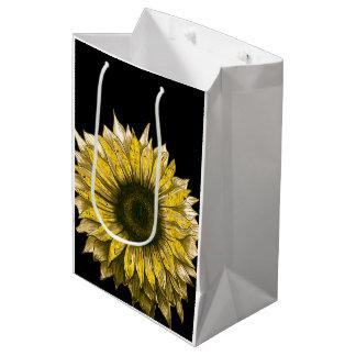 SUNFLOWER Gift Bag!! Medium Gift Bag