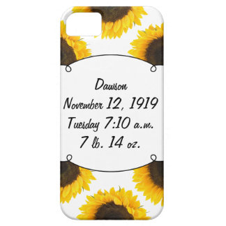Sunflower Gifts iPhone 5 Cases
