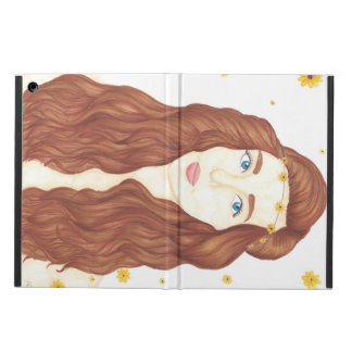 Sunflower Girl iPad Air Case