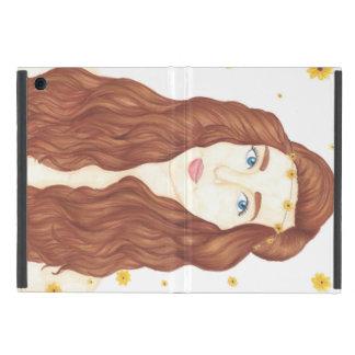 Sunflower Girl iPad Mini Case