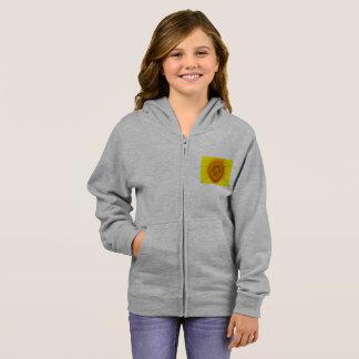 Sunflower Girl's Zip Hoodie