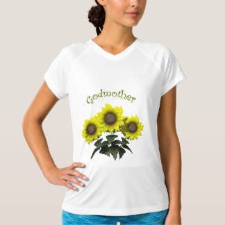 Sunflower Godmother Mothers Day Gifts Tshirts