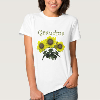 Sunflower Grandmother Mothers Day Gifts T-shirt