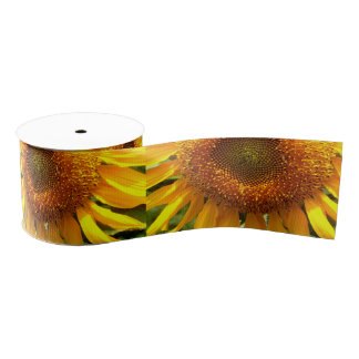 Sunflower Grosgrain Ribbon