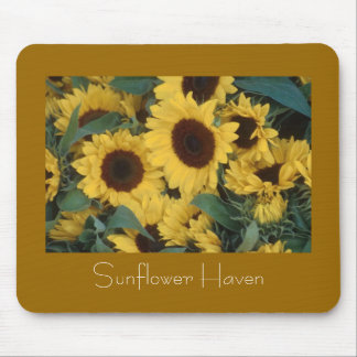 Sunflower Haven Mouse Mats