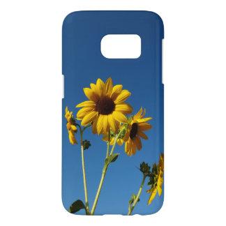 Sunflower & Honeybee photo case