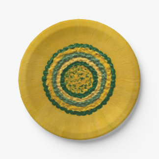 """Sunflower in Spring 7"""" 7 Inch Paper Plate"""