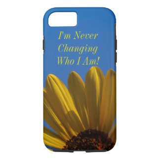 Sunflower Inspirational iPhone 7 Case