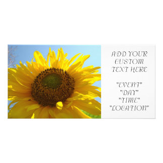 SUNFLOWER Invitation Cards Party Invitations Event