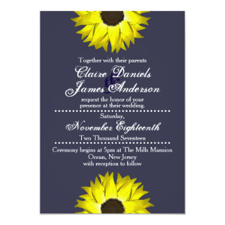 Sunflower Invitations - Wedding/Special Occasions