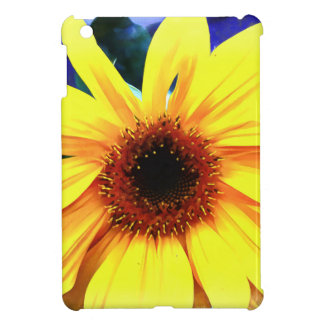 Sunflower iPad Mini Glossy Finish Case iPad Mini Covers