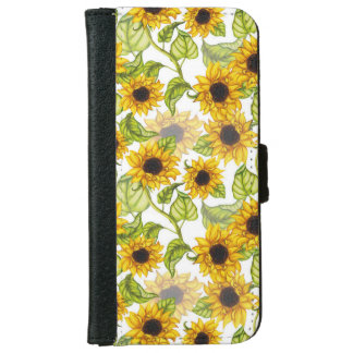 Sunflower Iphone 6/6s Wallet Case