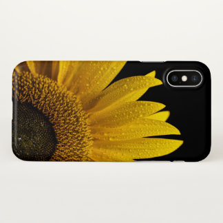 sunflower iPhone X case