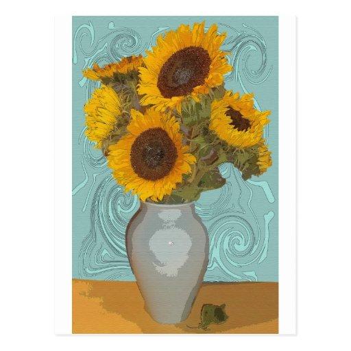 sunflower.jpg postcard