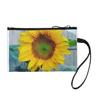 Sunflower Keychain Clutch Bag Coin Wallet