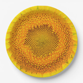 Sunflower Large Paper Plates