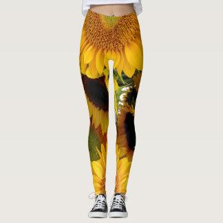 Sunflower Leggings Running Pants Jogging Tights