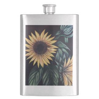 Sunflower Life Hip Flask