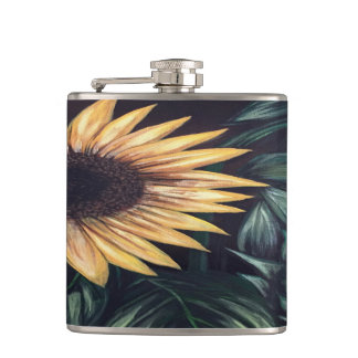 Sunflower Life Hip Flask
