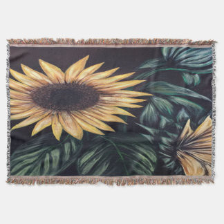 Sunflower Life Throw Blanket
