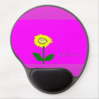 Sunflower love gel mouse pad