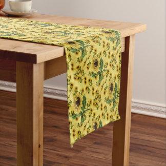Sunflower Love Short Table Runner