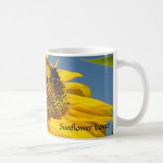 Sunflower Lover Coffee Cup Yellow Sun Flowers Coffee Mugs