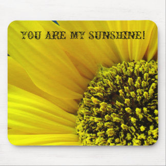 SUNFLOWER MACRO (2) Mousepad