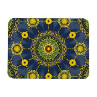 Sunflower Mandala Array Magnet