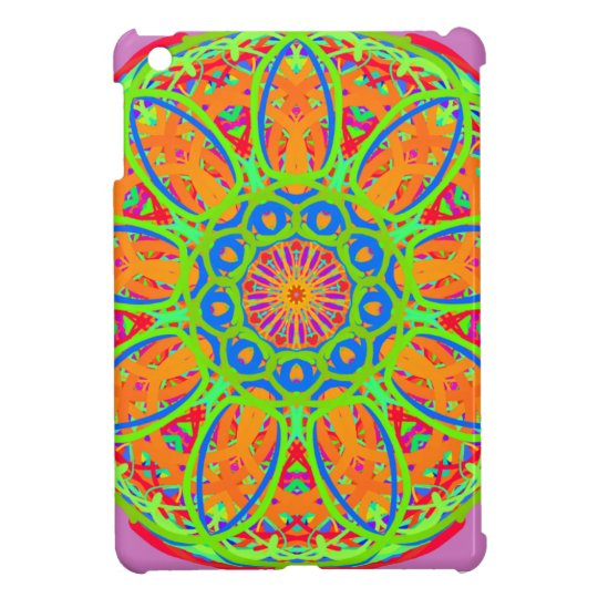 Sunflower Mandala Design Case For The iPad Mini