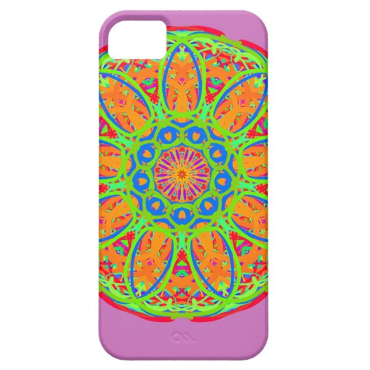Sunflower Mandala Design iPhone 5 Case