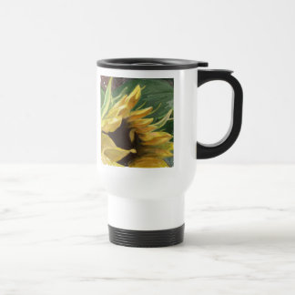 Sunflower - may your days be sunny and bright travel mug