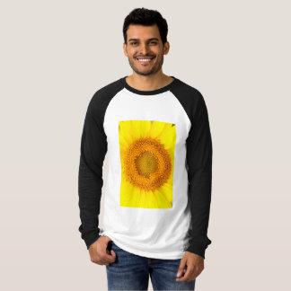 Sunflower Men's Canvas Long Sleeve Raglan T-Shirt
