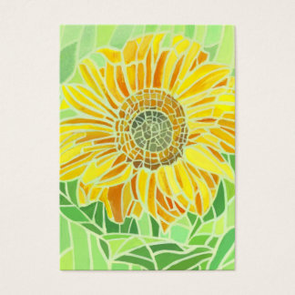 Sunflower Mosaic ACEO Artists Trading Cards