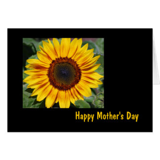 Sunflower Mother's Day Card