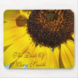 Sunflower mousepad *personalize*