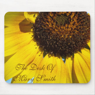 Sunflower mousepad *personalize*