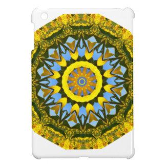 Sunflower Nature, Flower-Mandala (Blumen-Mandala) Cover For The iPad Mini