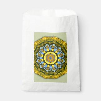 Sunflower Nature, Flower-Mandala Favour Bag