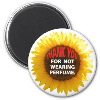 Sunflower No Perfume Magnet