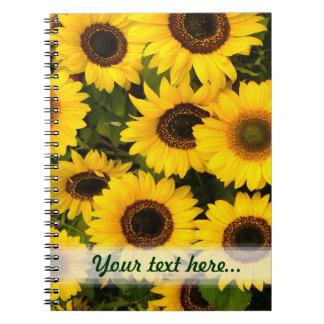 Sunflower  ~ Note Book