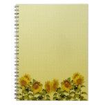 Sunflower Notebook