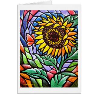 Sunflower Notecard Note Card