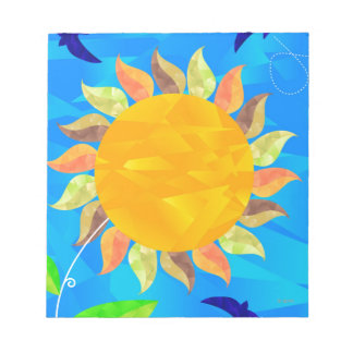 Sunflower Notepad